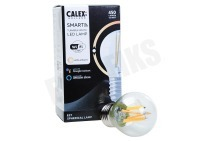 Calex 429020  Smart LED Filament Clear Kogellamp P45 E27 Dimbaar 220-240V, 4,5W, 450lm, 1800-3000K