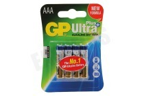 GP 03024AUPU4  LR03 Ultra Plus Alkaline AA - 4 batterijen Potlood Ultra Plus Alkaline