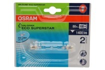Osram 4008321928955  Halogeenlamp Haloline ESS R7s 74.9mm Buislamp 80W 230V 1400lm