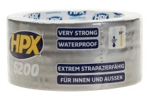 HPX CS5010  6200 Pantsertape Repair Zilver 48mm x 10m Duct Tape, 48mm x 10 meter