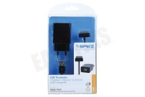 Spez 10479  USB Thuislader Apple Lightning 2A incl. kabel 100cm iPad 1, iPad 2 en iPad 3