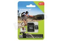 Memory card Action Camera, Class 10 (incl.SD adapter)
