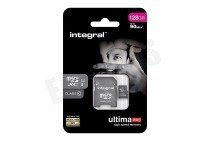 Integral  INMSDX128G10-90U1 Ultima Pro Micro SDHC Class 10 128GB 90MB/s Micro SDHC card 128GB 90MB/s
