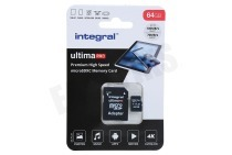 Integral INMSDX64G-100/70V30  UltimaPro High Speed Micro SDXC Class 10 64GB Micro SDHC card 64GB