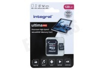 Integral INMSDX128G-100/90V30  UltimaPro High Speed Micro SDXC Class 10 128GB Micro SDHC card 128GB