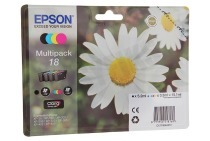 Epson EPST180640 Epson printer Inktcartridge T1806 Multipack Expression Home XP30