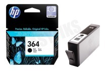 HP Hewlett-Packard HP-CB316EE HP 364 Black  Inktcartridge No. 364 Black Photosmart C5380, C6380