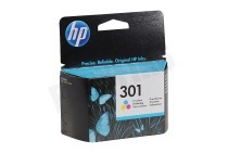 HP Hewlett-Packard HP-CH562EE HP 301 Color  Inktcartridge No. 301 Color geschikt voor o.a. Deskjet 1050,2050