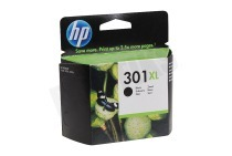 HP Hewlett-Packard HP-CH563EE HP 301 XL Black  Inktcartridge No. 301 XL Black geschikt voor o.a. Deskjet 1050,2050