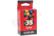 Lexmark 018CX033E Lexmark printer Inktcartridge No. 33 Color X7170 All-in-One