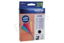 Brother BROI223BK LC-223BK Brother printer Inktcartridge LC-223 Black DCP-J4120DW, MFC-J4420DW, MFC-J4620DW