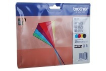 Brother LC223VALBP LC-223 Multipack Brother printer Inktcartridge LC-223 Multipack BK/C/M/Y DCP-J4120DW, MFC-J4420DW, MFC-J4620DW