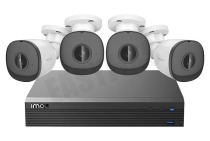 Imou IMOUKITNVR1104HS-PS3  NVR1104HS-P-S3/H-1T/4-F22AP Camerasysteem 1 TB HDD 4 POE uitgangen