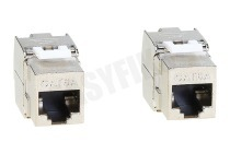 Hirschmann 695020600  KS 6A/2 Shop Data Keystone Cat 6A - 2 Stuks KS 6A/2 Shop