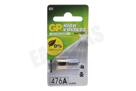 GP  4LR44 High voltage battery 476A - 1 rondcel