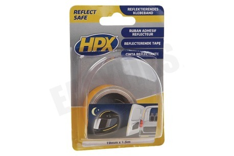 HPX  ZC11 Reflect Save Tape Geel 19mm x 1,5m