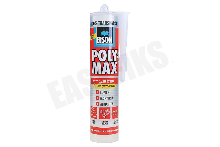 Bison  6307760 Poly Max Crystal Express
