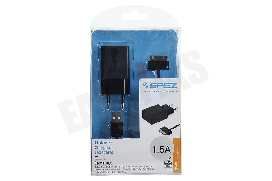 Spez  Oplader Samsung Dock connector, 1.5A
