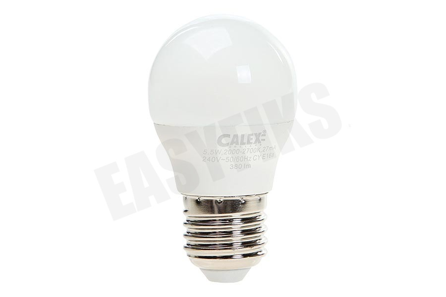 Calex  422206 Calex Satin Crystal LED Kogellamp 5,5W 380lm E27 P45