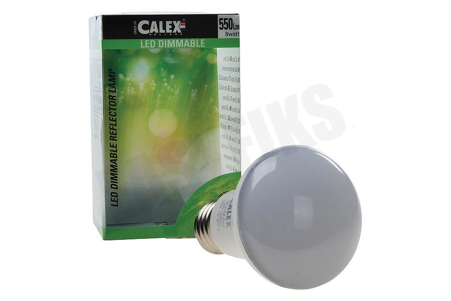Calex  473718 Calex LED reflectorlamp R63 240V 8W 550lm E27, warmwit