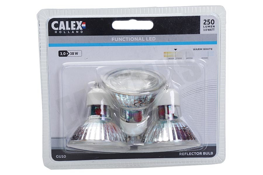 Calex  Ledlamp 3-Pack COB Led lamp GU10