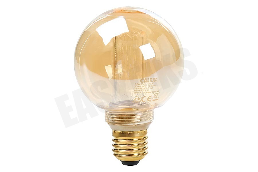 Calex  Globe G80 LED lamp Crown Filament SMD E27 Dimbaar