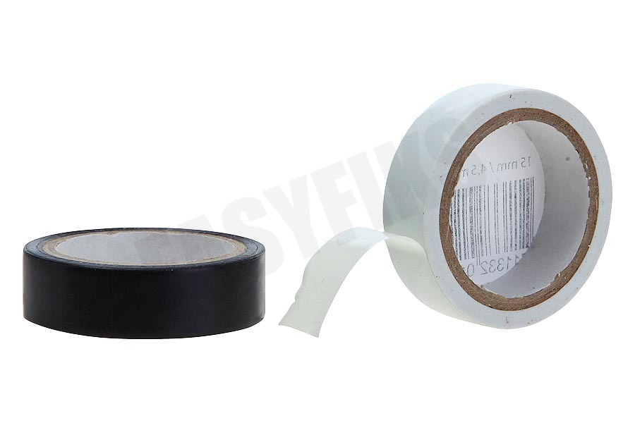Q-Link  Tape 15mm 4.6M wit en zwart