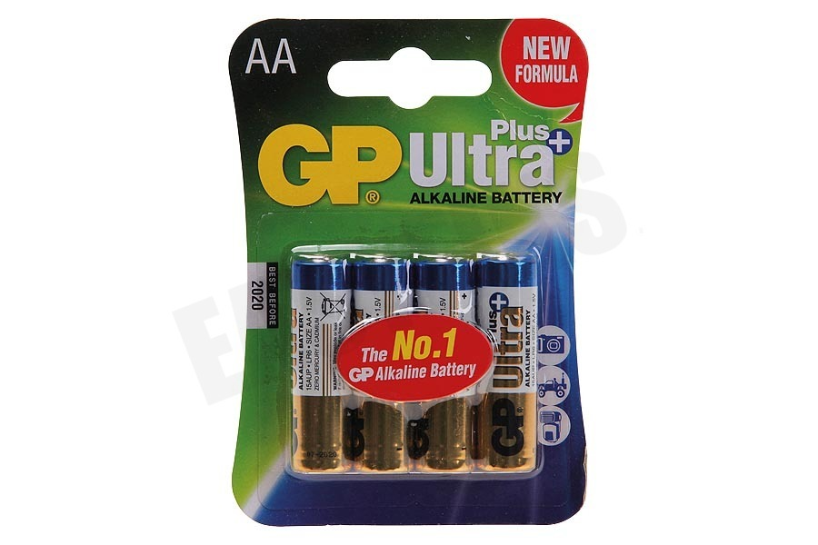 GP  LR6 Ultra Plus Alkaline AA