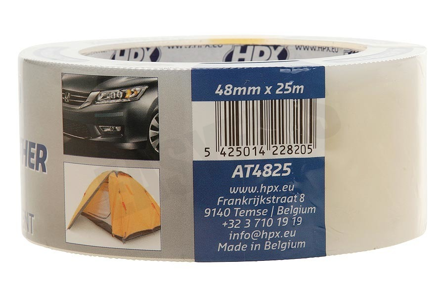 HPX  AT4825 All Weather Tape Transparant 48mm x 25m