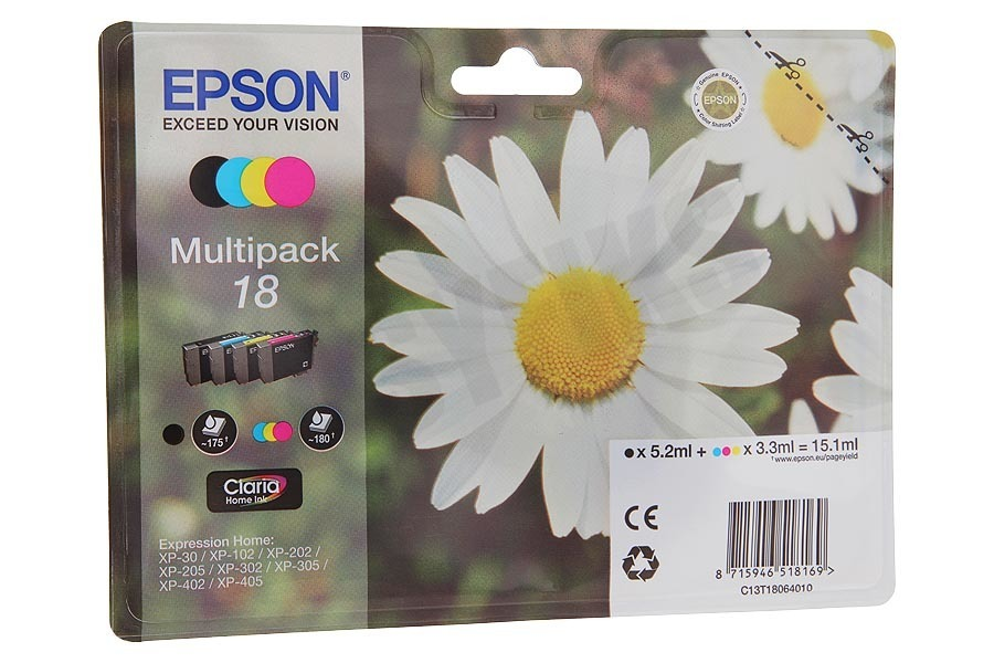Epson  Inktcartridge T1806 Multipack